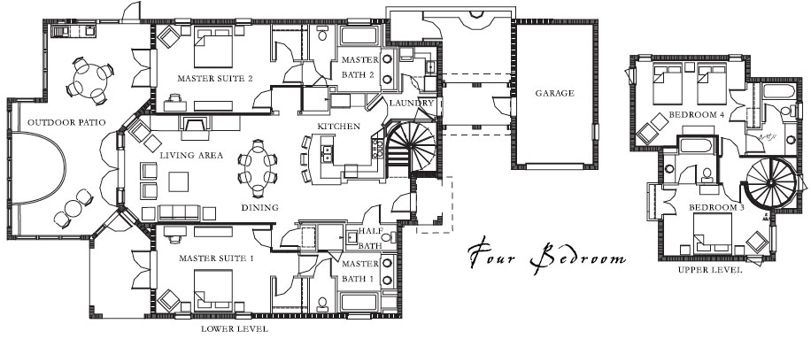Floor Plan - Four Bedroom
