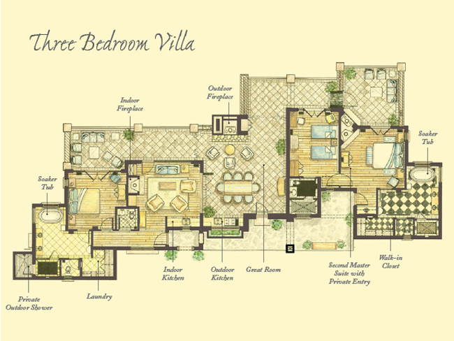 Italian villa blueprints for Italian villa floor plans