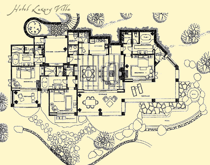 Naples Bay Resort : Resort Floor Plans
