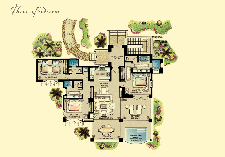 Please note that this is a typical floor plan but each residence